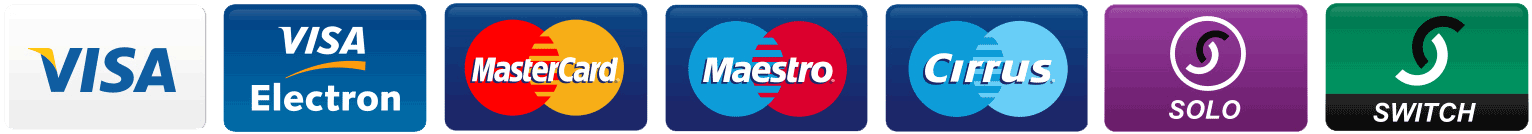Image of major credit cards